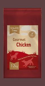 Gourmet Chicken Dog Food