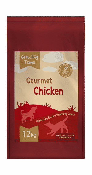 Gourmet Chicken Dog Food